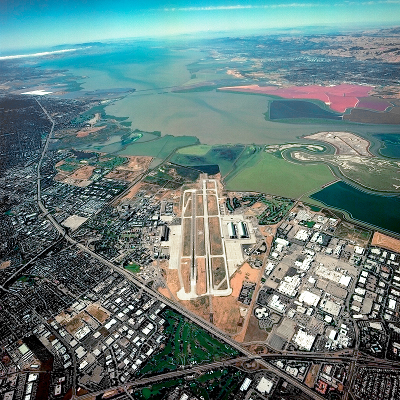 aerial view of nasa ames research center - photo #18